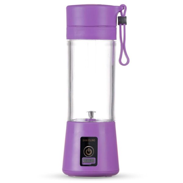 Mini Liquidificador Smart 380ml ROXO 6973 1538235739